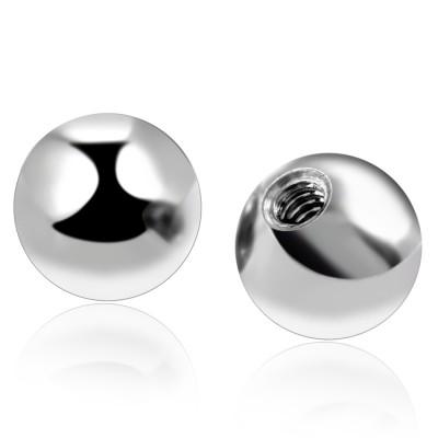 Титановый шар 1.2 3мм внутренняя резьба