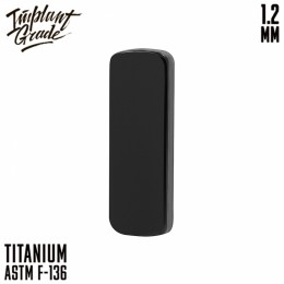 НАКРУТКА LINE BLACK IMPLANT GRADE 1.2 ММ ТИТАН+PVD